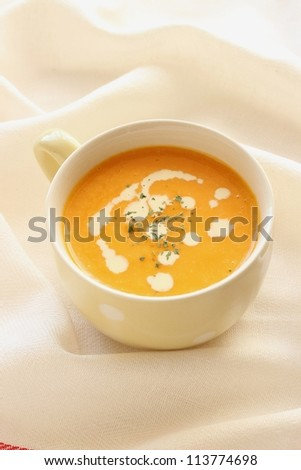 Home made Pumpkin soup