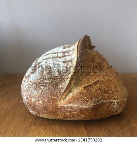 Home made Sourdough bread - artisan bread #1541750282