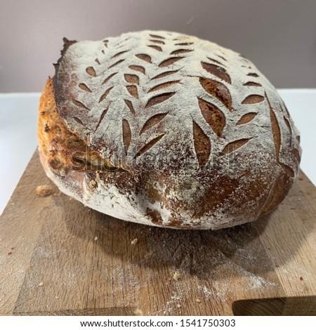 Home made Sourdough bread - artisan bread #1541750303