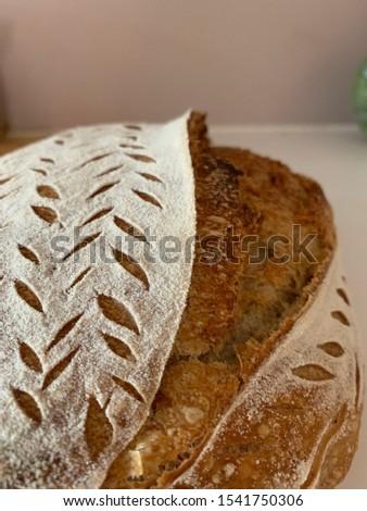 Home made Sourdough bread - artisan bread #1541750306