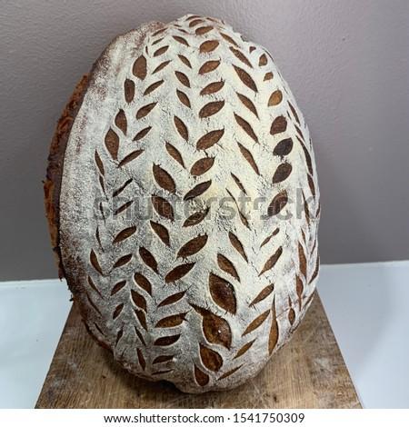 Home made Sourdough bread - artisan bread #1541750309