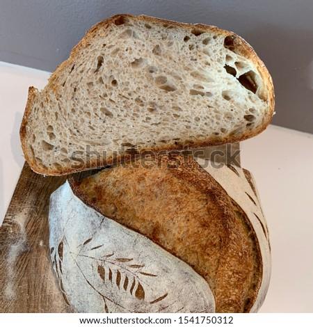 Home made Sourdough bread - artisan bread #1541750312