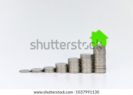 home model on the growing coin...