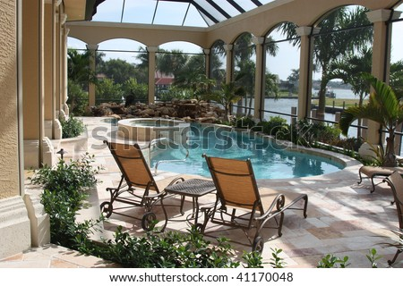 Home Patio and Pool #41170048