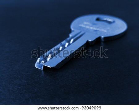 Home security - metal key