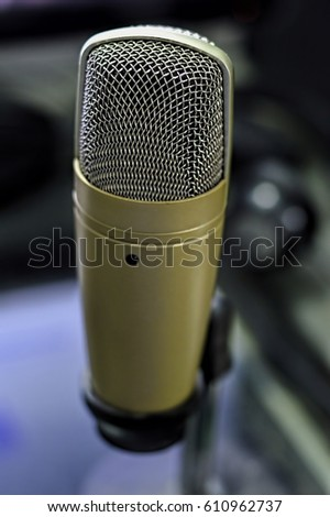 Home Studio Microphone #610962737