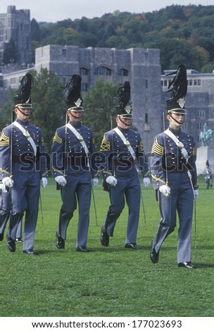 Homecoming Parade, West Point Military Academy, West Point, New York