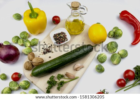 Homegrown vegetables. Fresh organic vegetables. Vegetables from the garden. Colorful vegetable. Healthy vegetable. isolate. copyspace