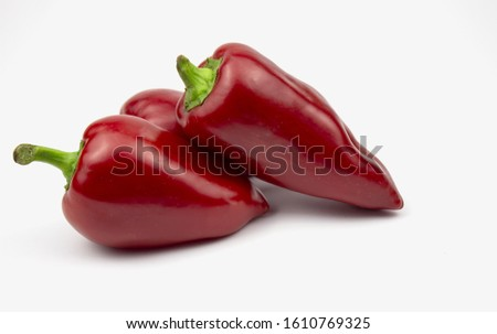 Homegrown vegetables. Fresh organic vegetables. Vegetables from the garden. Colorful vegetable. Healthy vegetable. isolate. Banner. pepper. Place for text
