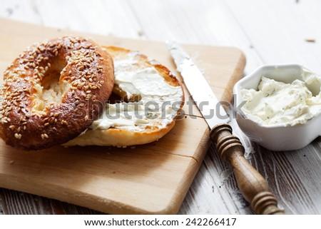 Shutterstock Homemade bagels with sesame, poppy, pumpkin and sunflower seeds