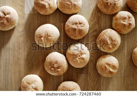 Homemade bread #724287460
