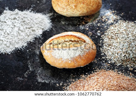 Homemade bread, homemade pastries #1062770762