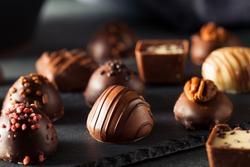 Homemade Dark Chocolate Truffles for Valentine's Day