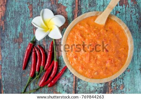 Shutterstock Homemade fresh sambal tomat (spicy tomato sambal)