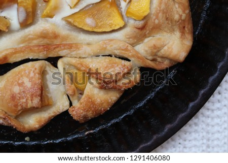 Homemade Mango & Yogurt Open Pie #1291406080