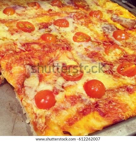homemade pizza #612262007