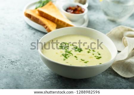 Photo of  Homemade potato soup