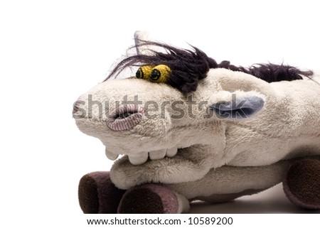 homemade puppet -a horse