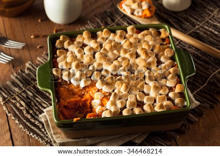 Homemade Sweet Potato Casserole for Thanksgiving