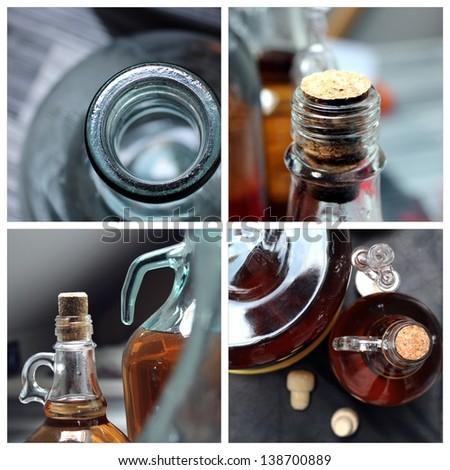 homemade wine production photo set
