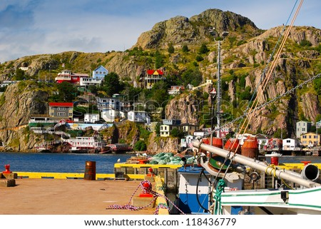 Homes on Battery Hill, St.John's, Newfoundland