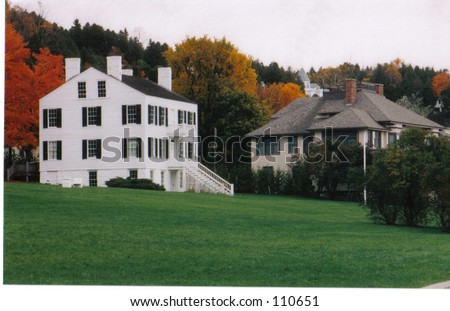 Homes on Mackinac Island In Michigan