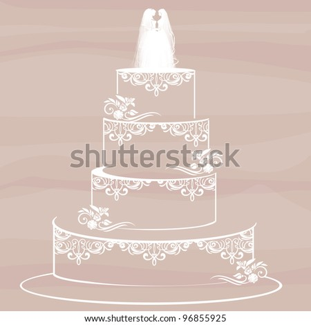 homosexual couple standing on top of a wedding cake