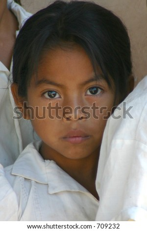 Honduras Private School Girl