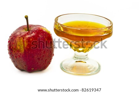 Honey And Apple Are Symbols Of Jewish New Year (Rosh ...