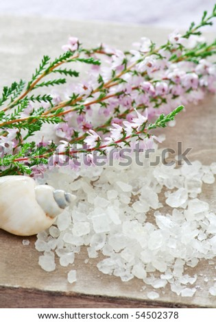 honey calluna with sea salt