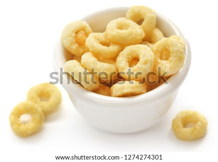 Honey ring flakes a delicious and nutritious items for breakfast Stock photo ©