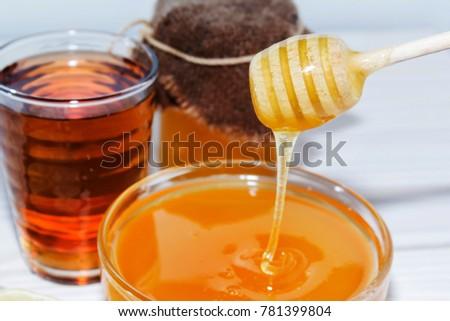Honey the natural medicine - Shutterstock ID 781399804