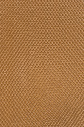 Honeycomb cardboard cells. Geometric background. Recyclable craft paper.