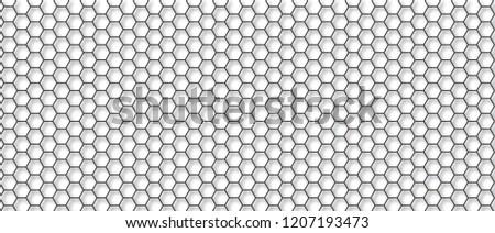 Honeycomb monochrome honey seamless pattern Vector eps hexagon mosaic background raster fun funny honey bee honeycombs Beehive orange and yellow honeycomb ornament