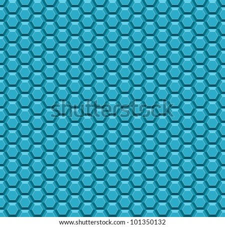 Honeycomb seamless pattern. Vector version available in my portfolio