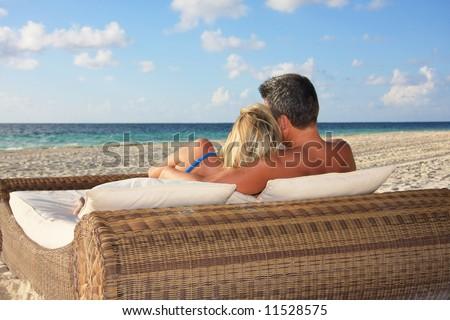 Honeymoon in paradise.