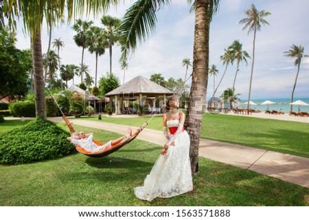 honeymooners on honeymoon in the tropics #1563571888