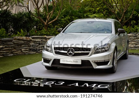 Hong Kong, China Jan 8, 2013 : Mercedes-Benz CLS Shooting Brake Media Event on Jan 8 2013 in Hong Kong.