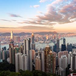 Hong Kong famous view