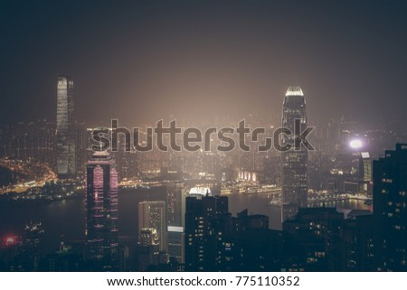 Hong Kong in Darkness