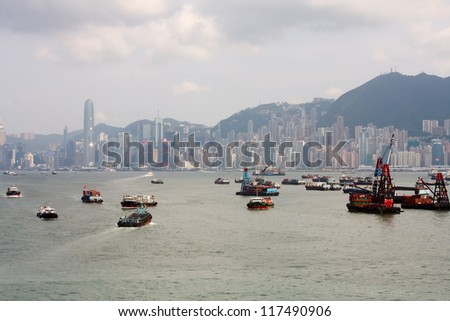 Hong Kong inner anchorage