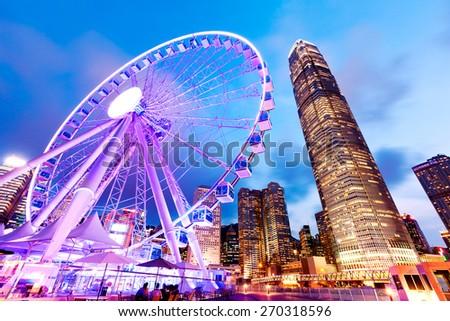 Hong Kong Observation Wheel Stockfoto ©