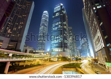 HONG KONG - OCTOBER 25: International Financial Centre October 25, 2012 in Hong Kong, China. Tower 2 is the second tallest building in Hong Kong.