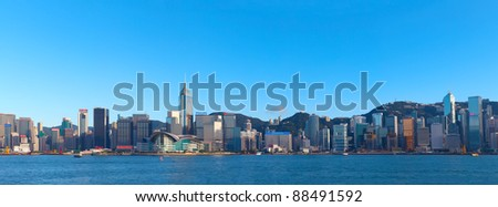 Hong Kong Victoria Harbour View