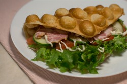 hong kong waffles fast food