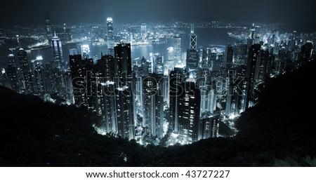 hongkong from the peak