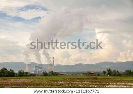 Hongsa power plant (HPC) at Hongsa District in Lao PDR #1111167791