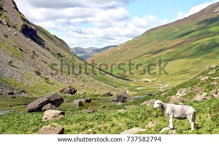 Honister Pass, Lake Dictrict, Cumbria #737582794