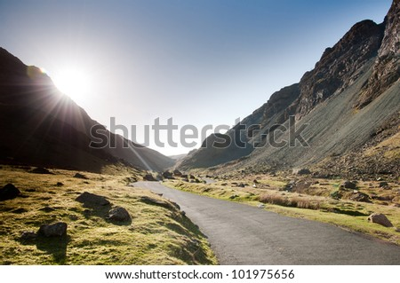 Honister Pass, Lake District, Cumbria, England, UK