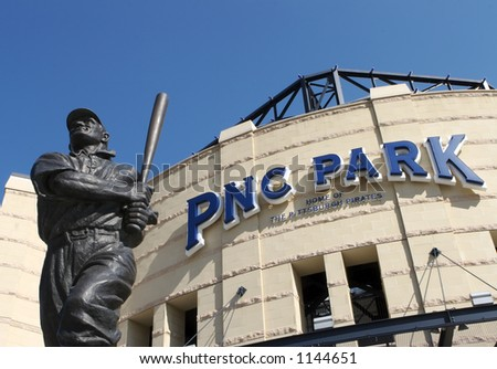 Honus Wagner Statue at PNC Park Entrance